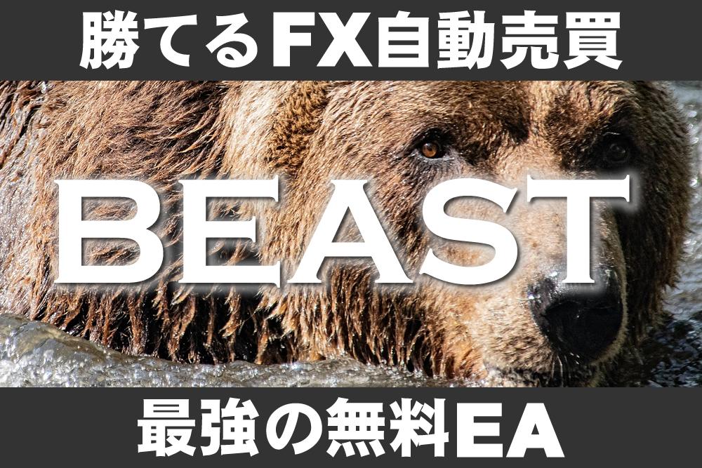 FX自動売買は儲かる!初心者でも勝てるおすすめ無料ツール!【BEAST 1】